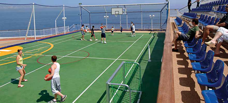 Basketball/Volleyball/Tennis Court