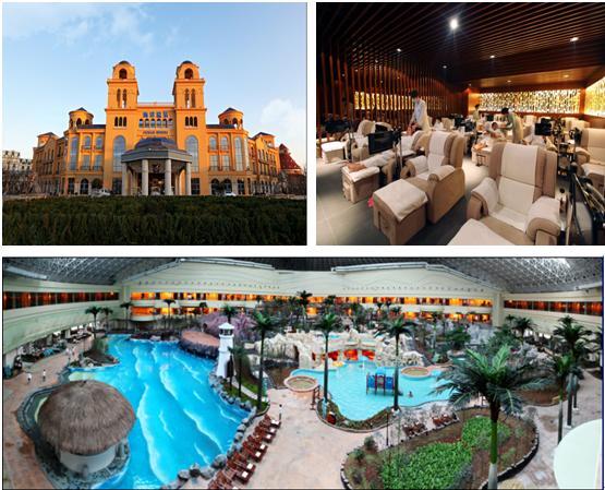 青岛海泉湾海洋温泉,是目前国内唯一兼具娱乐与养生功能