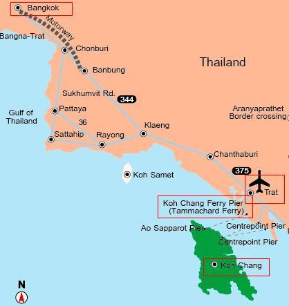 曼谷至象岛交通方式