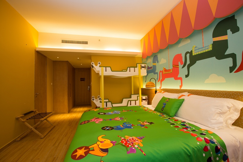 珠海长隆马戏酒店/珠海长隆横琴湾酒店1晚 赠送马戏门票2张价值700元