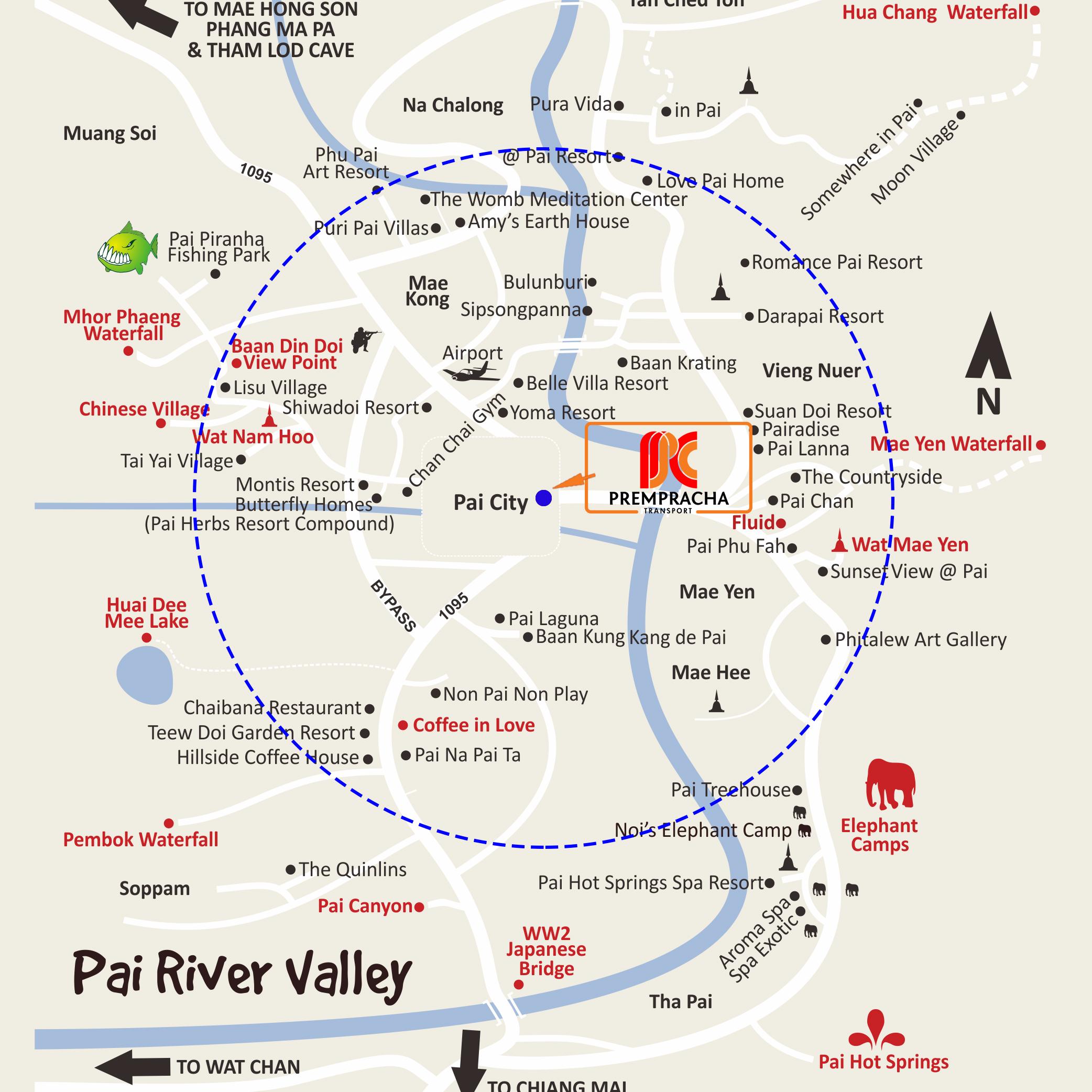鸡爪河林场地图