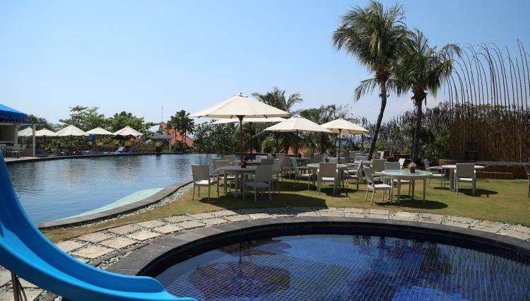 【专车服务】巴厘岛蓝点酒店正餐 玻璃教堂 无边泳池