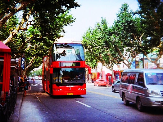 City Sightseeing Bus Tour, WFC & Huangpu River Cruise (Group)