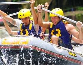 [Half-Day Tour] Ayung River Rafting (Group, includes lunch)