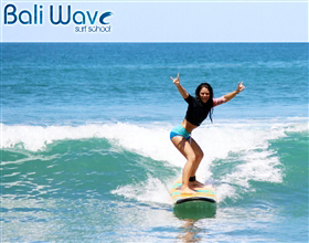 Bali Wave Surf School Private Lesson (2 Hours)