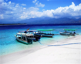 [1-Day Tour] Gili Island & Sendang Gile Waterfall (Group, includes lunch)