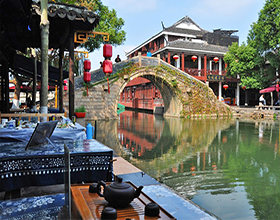 Zhouzhuang Water Town & Shanghai City Day Tour (Group, depart Shanghai)