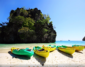 [1-Day Tour] Phang Nga Bay (Jamebond Island) & Canoeing (Group, by speedboat)