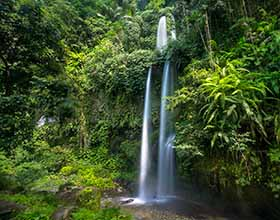 [1-Day Tour] Sendang Gile Waterfall (Group, includes lunch)