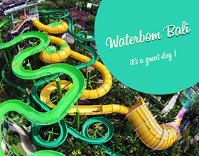 [Ticket] Amazing Waterbom Bali Tour (includes lunch)