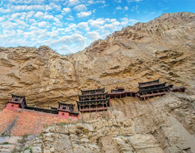 [1-Day Tour] Hanging Monastery & Yungang Caves (Group, depart Datong)