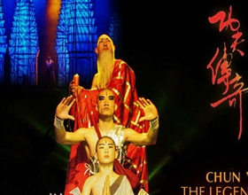 [Evening Tour] The Legend of Kung Fu Show (Group, with hotel transfer)