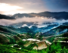 [1-Day Tour] Longji Rice Terraces (Group, includes lunch)<br>[Visa Exclusive 2017]