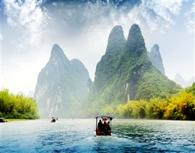 [1-Day Tour] Guilin-Yangshuo Li River Cruise (Private, includes lunch)<br>[Visa Exclusive 2017]