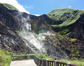 [Half-Day Tour] Yangmingshan National Park & Hot Spring (Group)