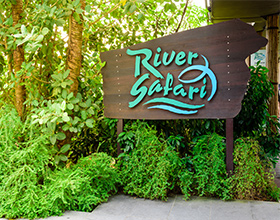 River Safari 1-Day Admission Ticket