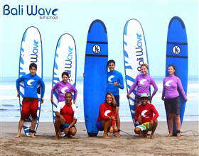 Bali Wave Surf School Basic Course (2.5 hours, Group)