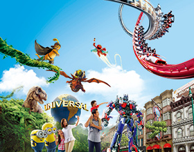 Universal Studios Singapore<sup>®</sup> 1-Day Admission Ticket