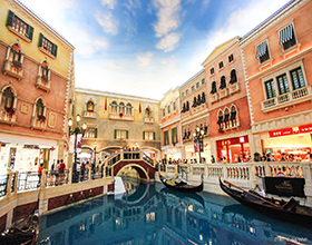 The Venetian Macau Gondola Ride Adult Admission (aged 12 or above)