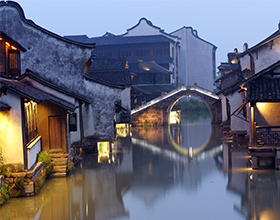 [1-Day Tour] Wuzhen Watertown (Xīzhà) with Authentic Chinese Foot Massage (Private, no-shopping, depart Hangzhou, includes lunch)