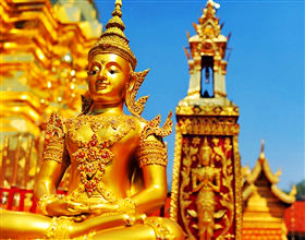 [Half-Day Tour] City Temples & Wat Phra That Doi Suthep (Group)