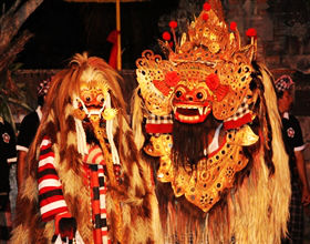 [1-Day Tour] Barong Dance @ Kesiman & Kintamani Volcano (Private, includes lunch & dinner)