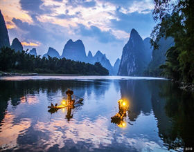[1-Day Tour] Yangdi-Xingping Li River Cruise (Private, includes lunch)<br>[Visa Exclusive 2017]