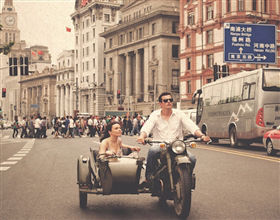 [Half-Day Tour] Shanghai Sidecar: Different and Fun! (1 hour from point A to point B)<br>[Visa Exclusive 2017]